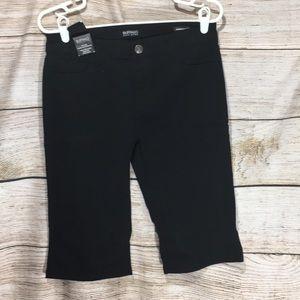 Buffalo David Bitton 4/27 Bermuda shorts black